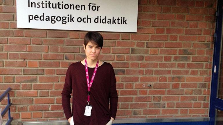 Adriana Jiménes. Photo: Emelie Rosén/Sveriges Radio