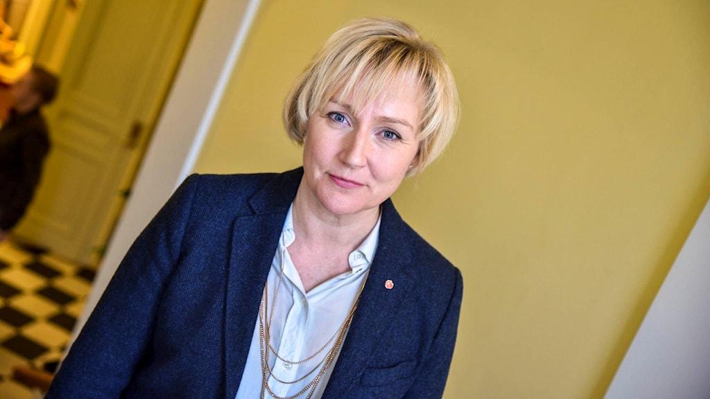Helene Hellmark Knutsson (S), minister för högre utbildning.