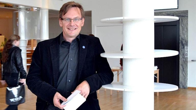 Anders Fällström, Vicerektor för utbildning vid Umeå Universitet, Foto: Molli Rosenström/SR.
