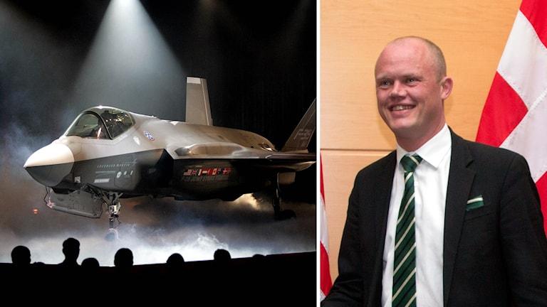 Danmarks försvarsminister Peter Christiansen.
