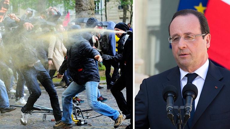 Sedan i mars har demonstrationer och våldsamheter kantat arbetet med reformen.