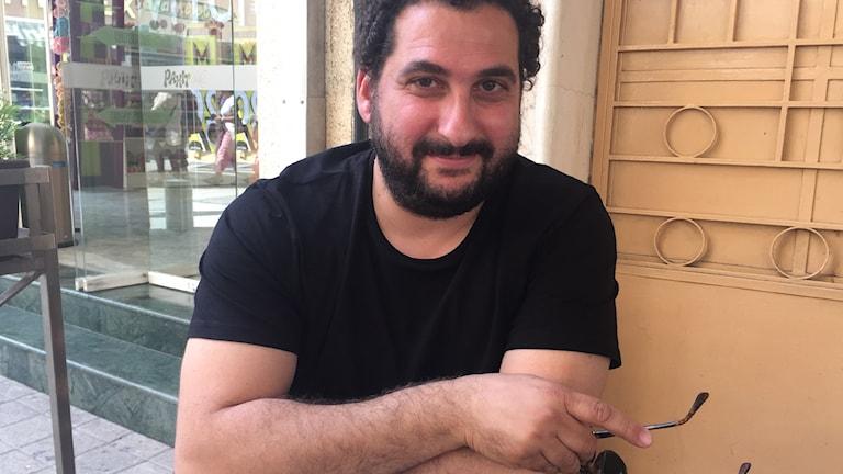 Arkitekten och grekcyprioten Giorgios har förlorat hoppet om en lösning på konflikten.