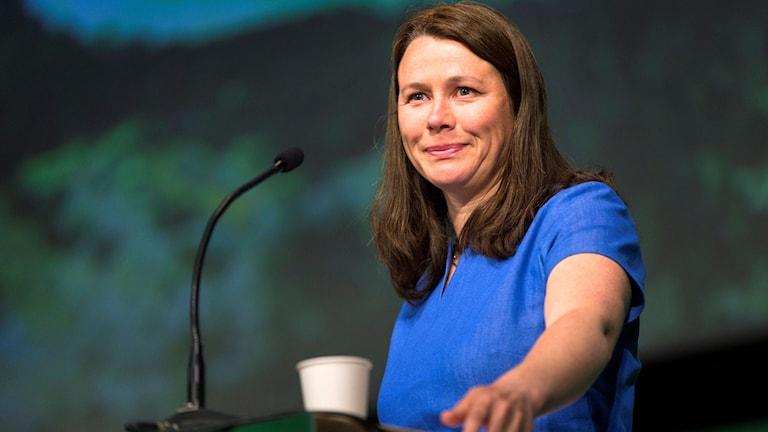 Åsa Romsons avskedstal på Miljöpartiets kongress