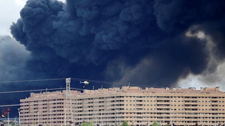 8000 människor är evakuerade från området.