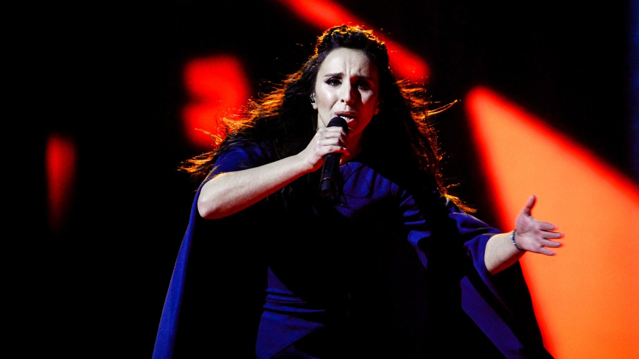 Ukraina stoppar rysk artist i Eurovision Kulturnytt i P1