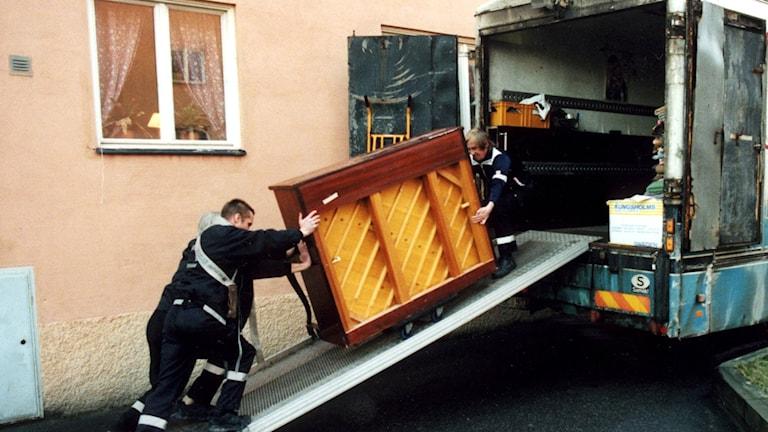 Flytt av piano.