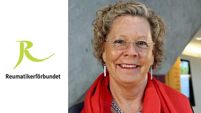Anne Carlsson, ordförande i Reumatikerförbundet. Foto: Reumatikerförbundet