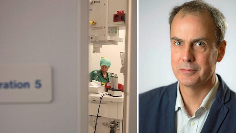Ulf Lockowandt, verksamhetschef på Thoraxkliniken på Karolinska Universitetssjukhuset.
