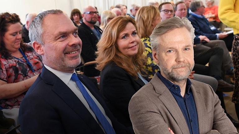 Liberalernas partiledare Jan Björklund och Cecila Wikström.