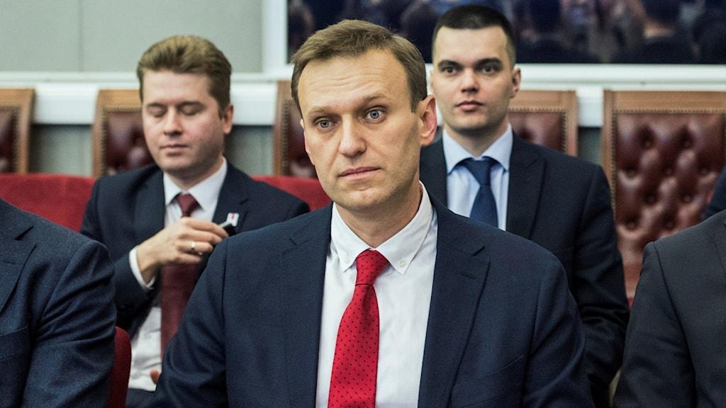 Den ryske oppositionsledaren Alexej Navalnyj.