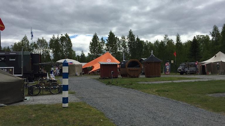 Bastuby i Kukkola i Norrbotten.