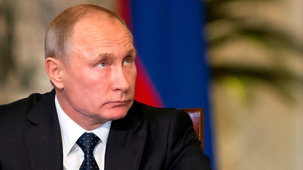 Rysslands president Vladimir Putin.