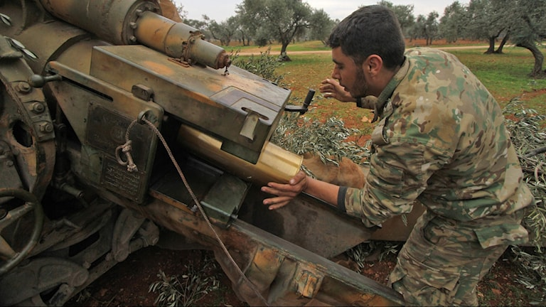 Syriska nationella frihetsfronten.