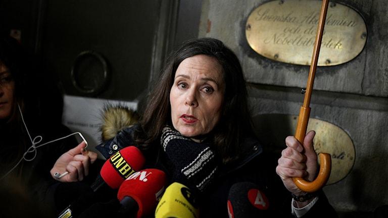 Sara Danius, Svenska Ak