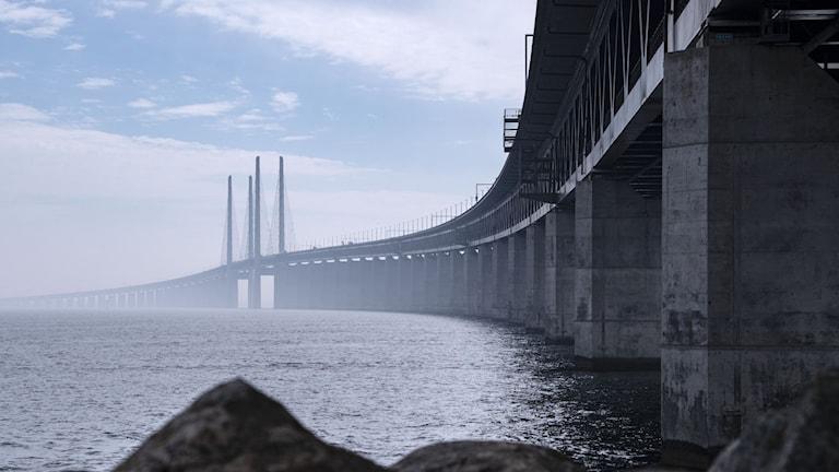 Hastigheten sänks när Danmark inför gränskontroll