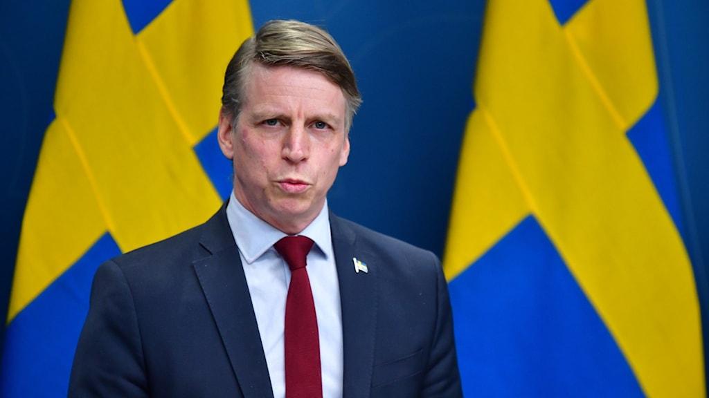 Finansmarknadsminister Per Bolund.
