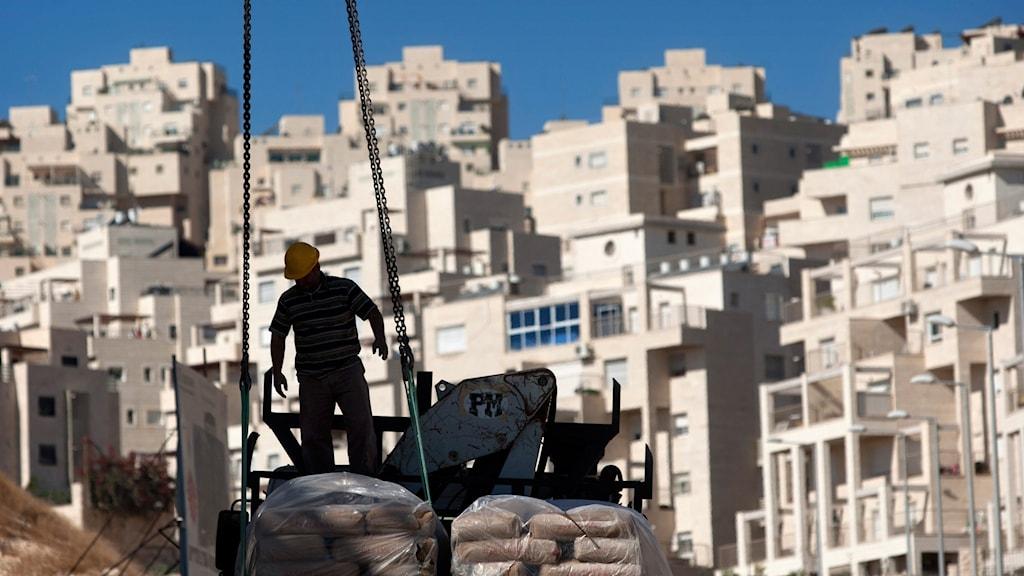 Bostadsbyggande i östra Jerusalem