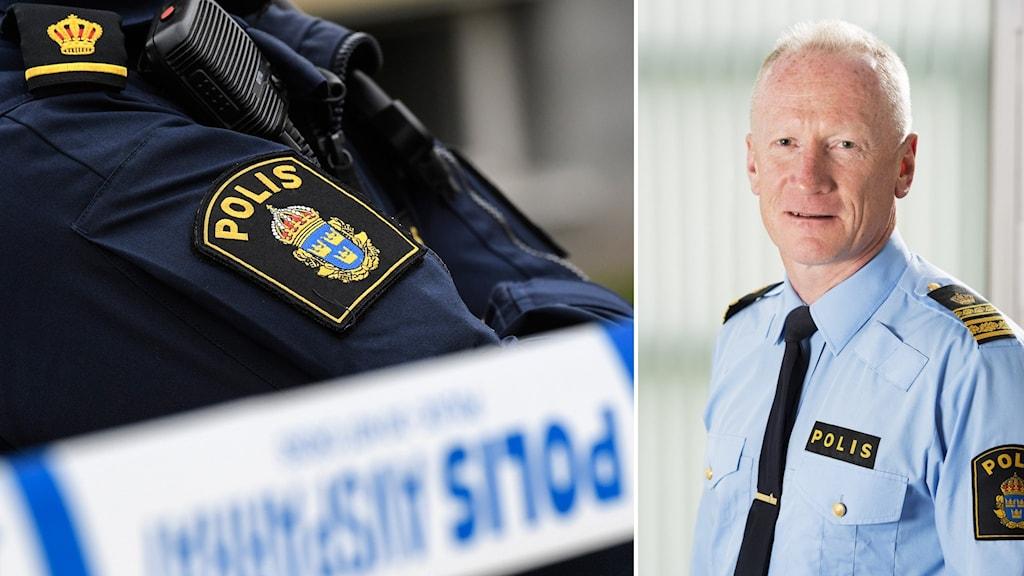 Per Engström, kommenderingschef på polisens nationella coronastab.