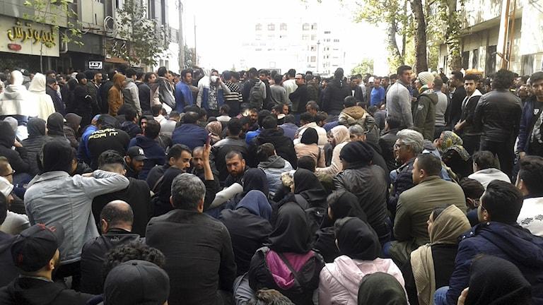 Demonstration iran