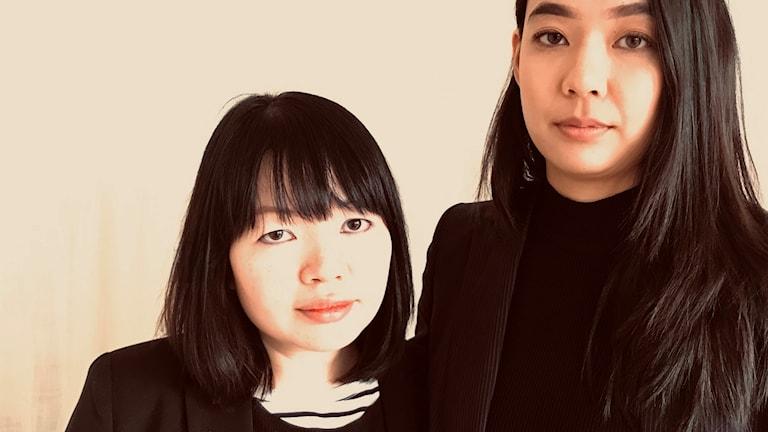 Människorättsförsvararna Anna Nguyen och Vi Tran