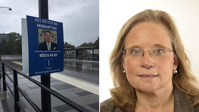 KD valaffisch Maria Fälth