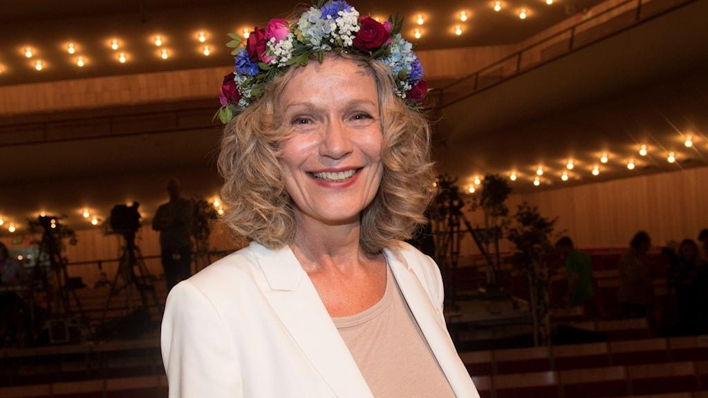 Åsa Wikforss är ny ledamot i Svenska Akademin. Åsa Wikforss var sommarvärd i P1 2018.