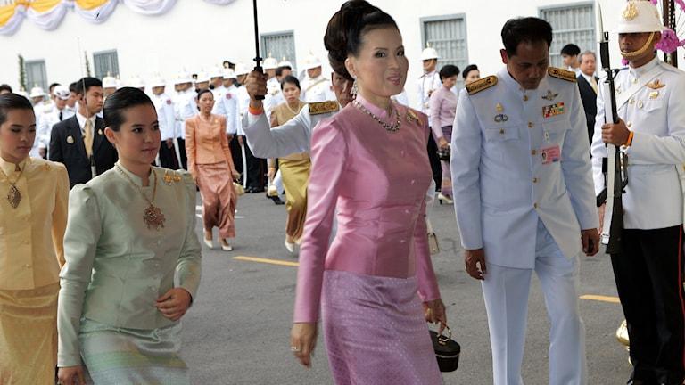 Prinsessan Ubol-ratana, har helt oväntat meddelat att hon kandiderar till posten som premiärminister.