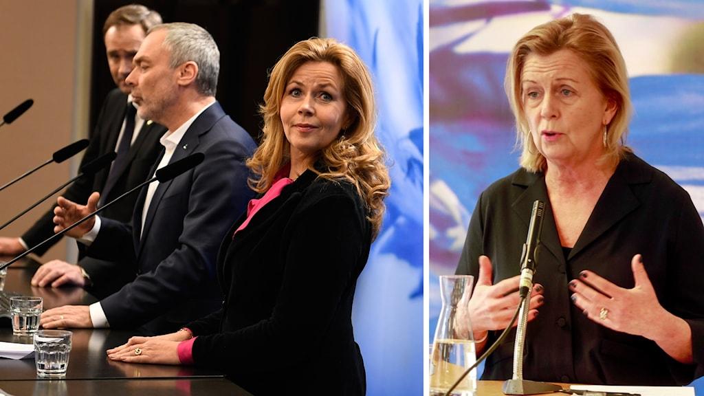 Liberalernas partisekreterare Maria Arnholm svarar på kritiken.