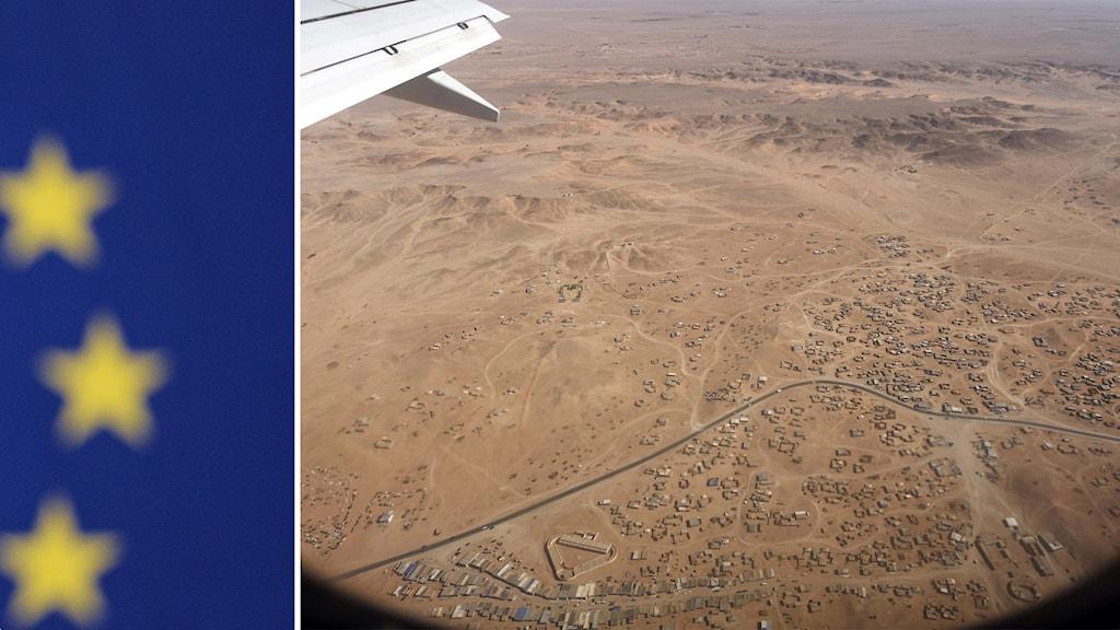 Västsahara uppifrån