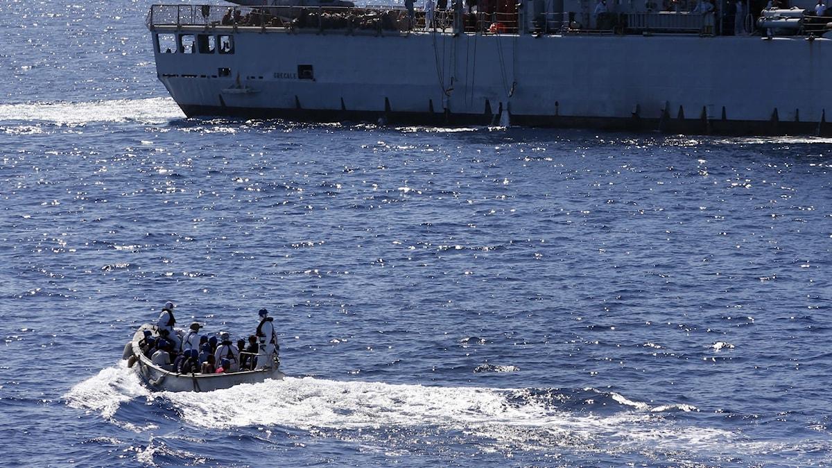 Planen: EU vill skrota militär insats i Medelhavet