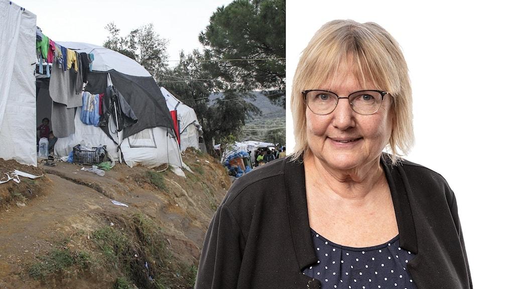Flyktingläger och EU-kommentator Susanne Palme.