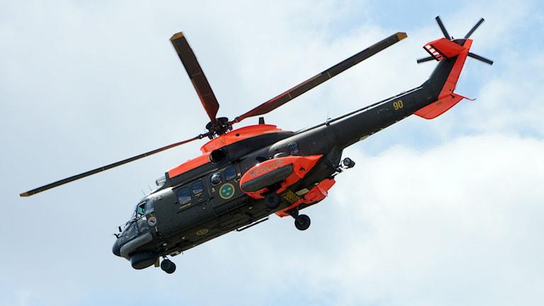 Försvaret, helikopter