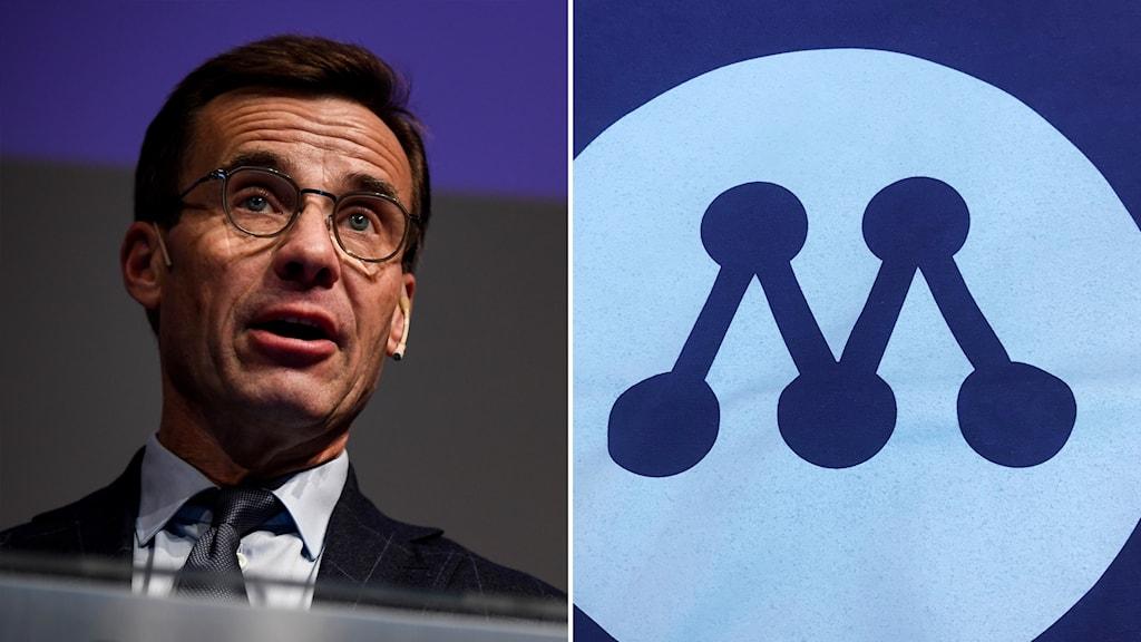 Ulf Kristersson Moderaterna-logotyp