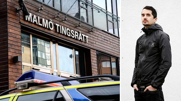 Showan Attack och Malmö tingsrätt
