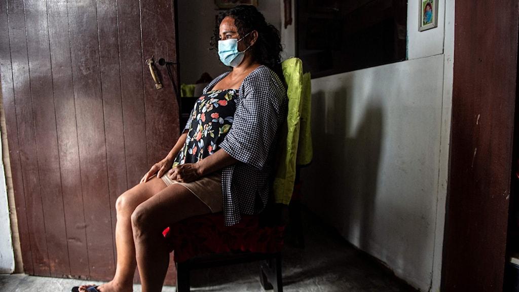 Steriliserad kvinna i Peru