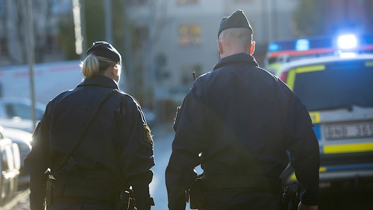 Polis, blåljus