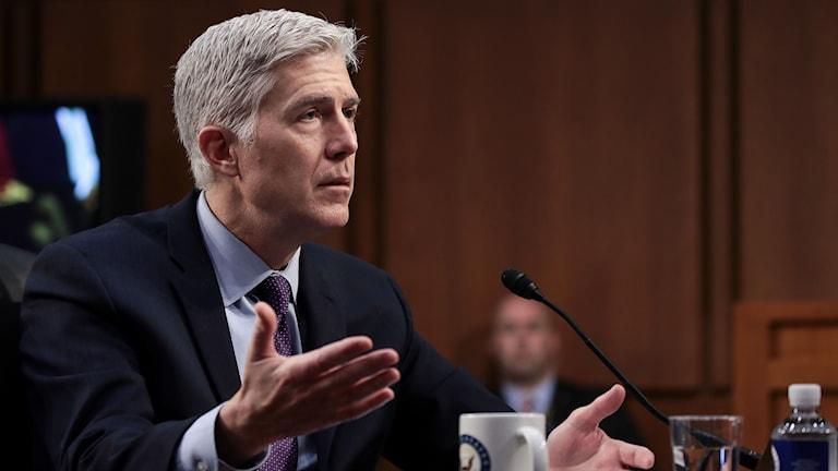Neil Gorsuch, kandidat till Högsta domstolen i USA som nu kan få en plats.