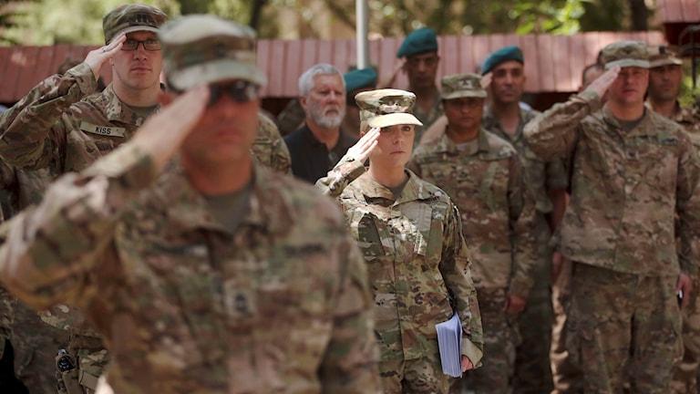 Amerikanska soldater i Afhganistan.