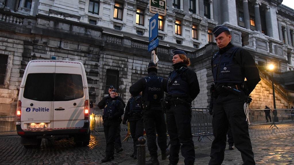 Polisen Bryssel