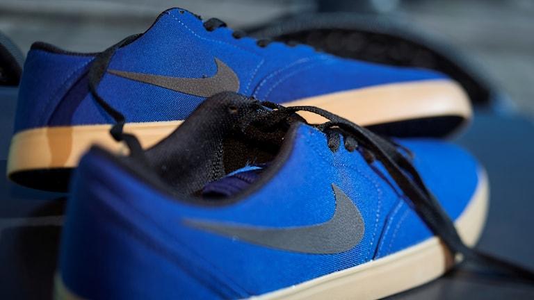 Ett par Nike-skor.
