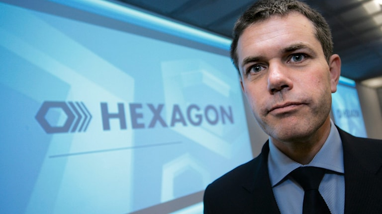 Börsbolaget Hexagons vd Ola Rollén.