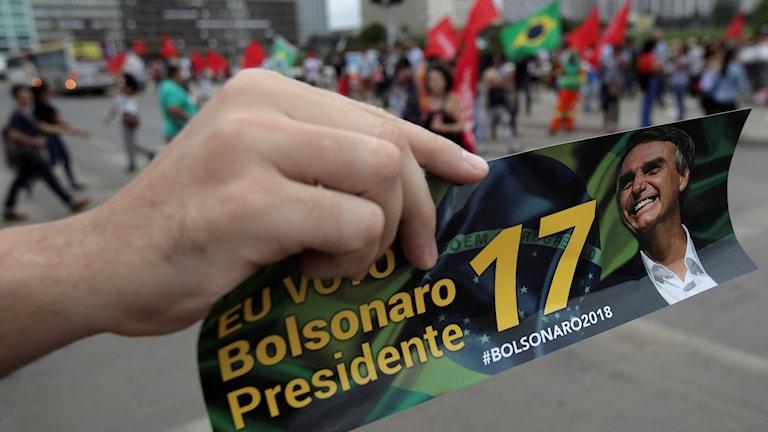 Valkampanj i Brasilien