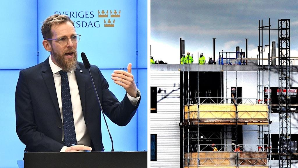 Split Jakob Forssmed KD bostadsbygge