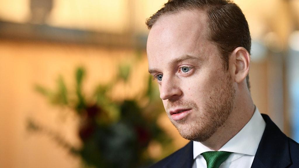 Gustav Kasselstrand, partiledare för Alternativ för Sverige (AFS).