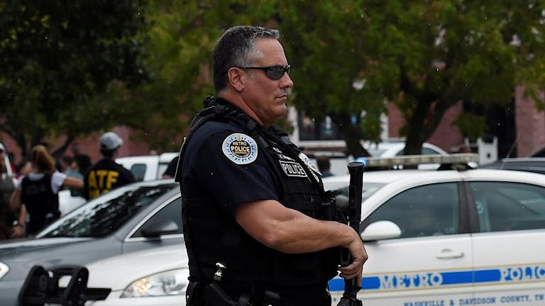 Polis i USA.