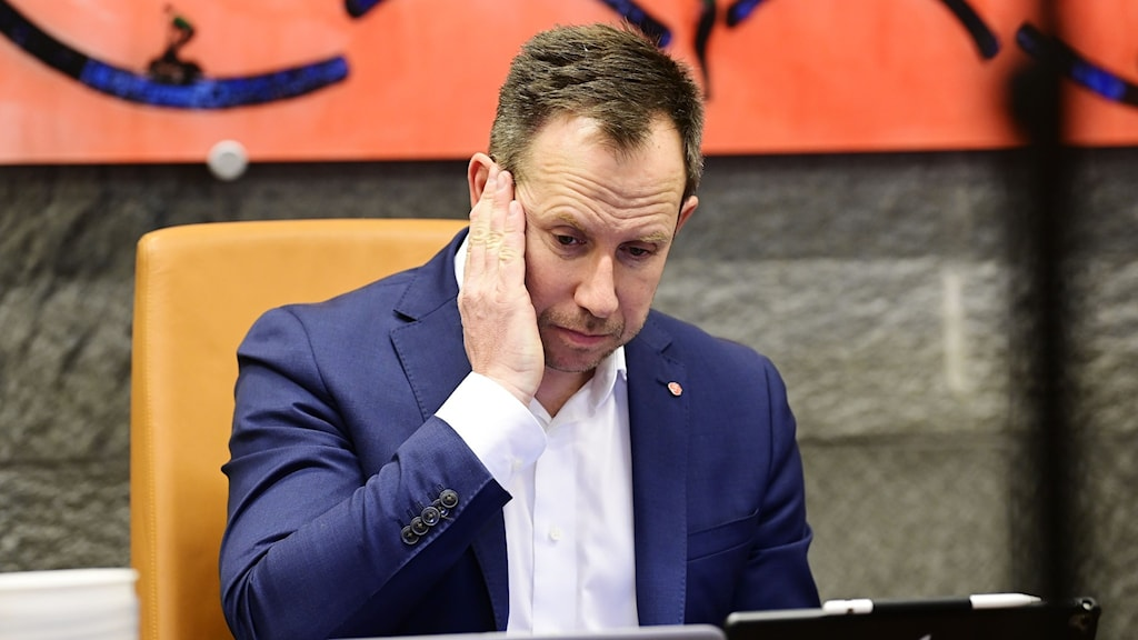 Kommunstyrelsens ordförande i Vetlanda  Henrik Tvarnö (S).