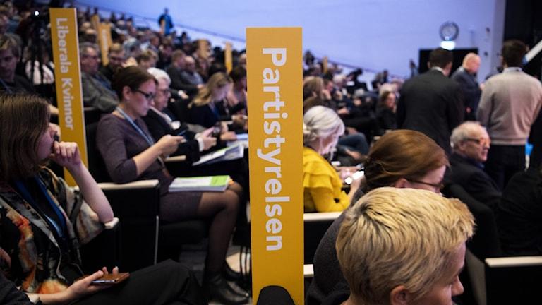 Liberalernas partistämma 2019 i Västerås.