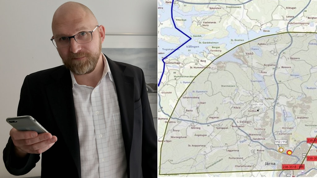 Mattias Hindfeldt, SOS Alarm