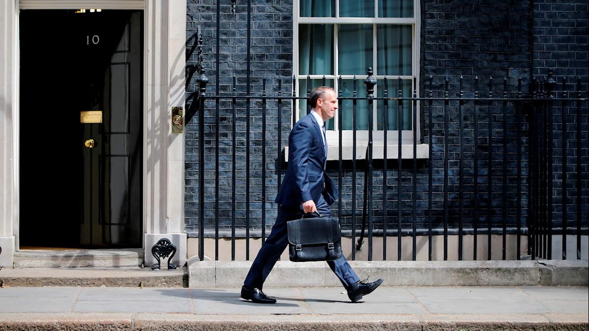 Dominic Raab är en av de nya ministrarna i Brittiska regeringen.