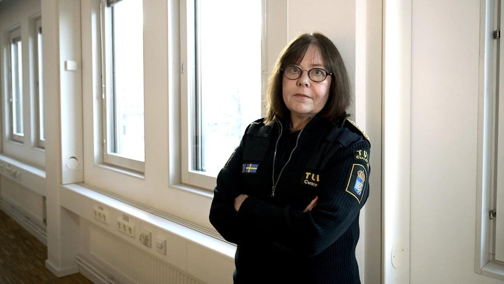 Tullverkets generaldirektör Charlotte Svensson